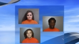 Three charged with attempted robbery of family at home in Florence