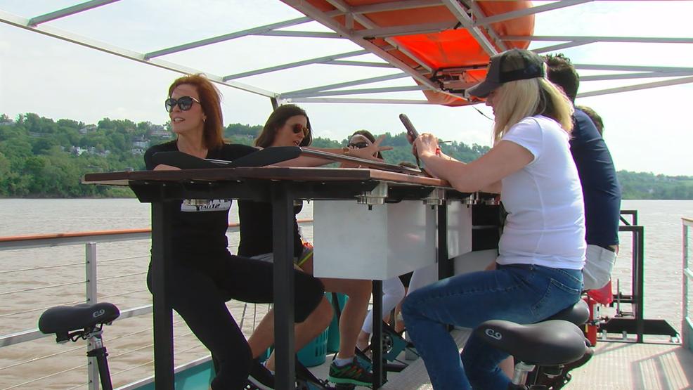 Cincinnati Cycleboats opens on the Ohio River