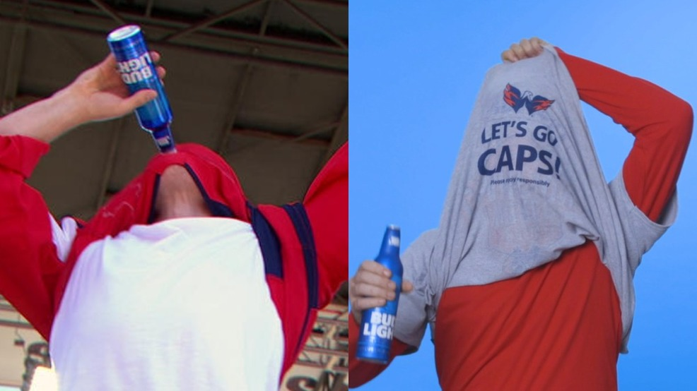 d4b38b868 Bud Light is giving away free T-shirts at D.C. bars so you can drink like T.J.  Oshie