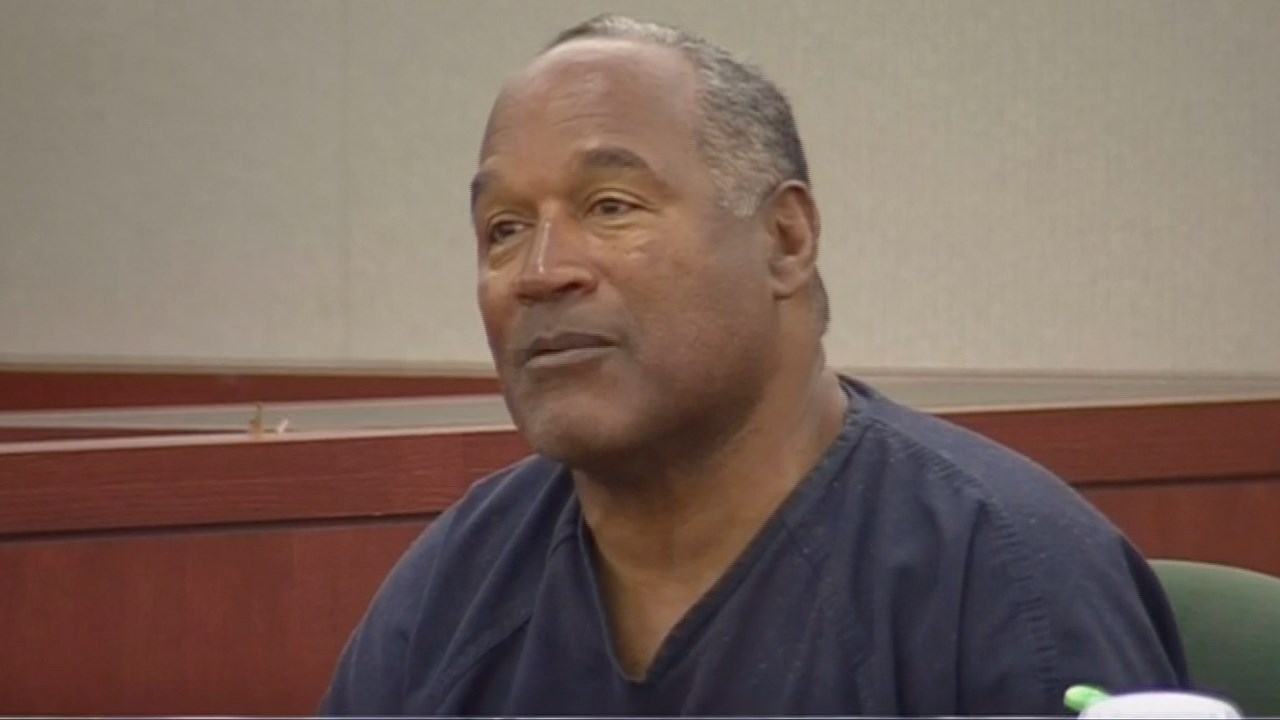 FILE - O.J. Simpson returns to Las Vegas court in bid for new trial, May 2013. (CNN/MGN)