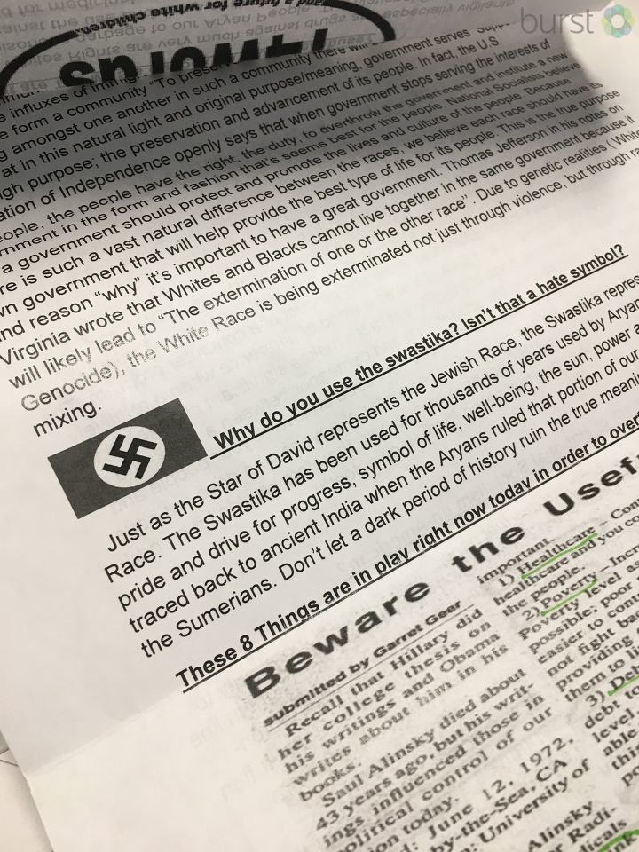 A Saginaw County man feels violated after he received a recruitment letter from a white nationalist organization. (Photo: WEYI/WSMH)
