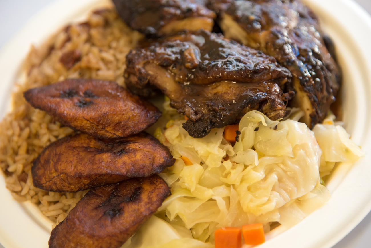 Jerk Chicken / Image: Phil Armstrong, Cincinnati Refined // Published: 3.14.17