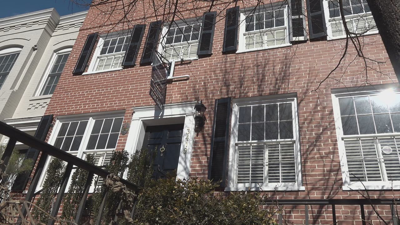 For sale: Georgetown home where JFK met Jackie (ABC7)