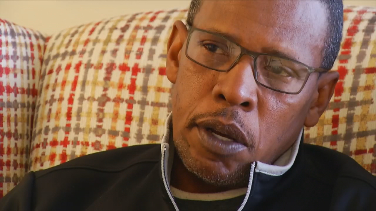 <p>Joseph Cobb said his brother Preston was 15 and on death row in Georgia for a murder he didn't commit when Dr. Martin Luther King jr. and others helped get him exonerated. Cobb said that was in the 1960s. (Photo credit: WLOS staff)</p>