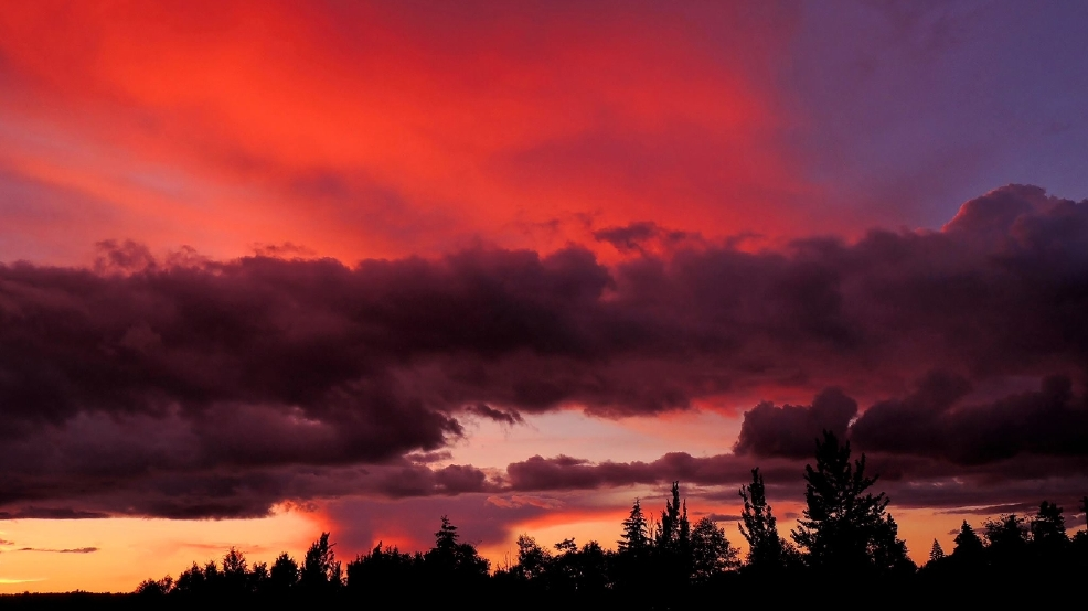 Photos ICYMI: Wednesday night's incredible sunset