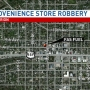 Marion police investigate armed robbery at gas station