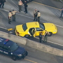 'Cabjacking' suspect had 200 grams of drugs, was shot at before chase, police say