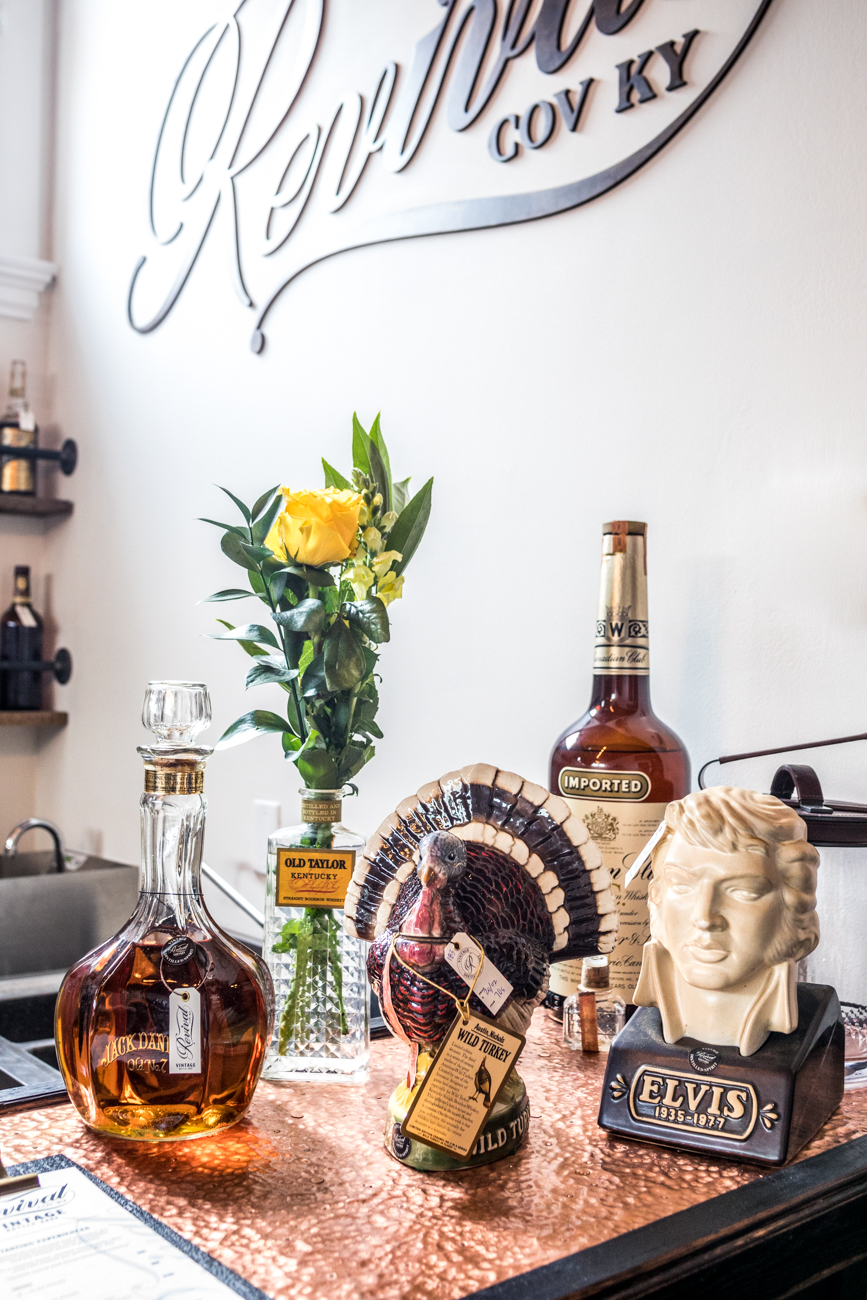 The staff is made up of knowledgeable bourbon enthusiasts who can guide customers through the shopping process based on their tastes. They also love discussing topics pertaining to bourbon barrels, bottles, historic bootlegging, and everything in between. / Image: Catherine Viox // Published: 8.26.20