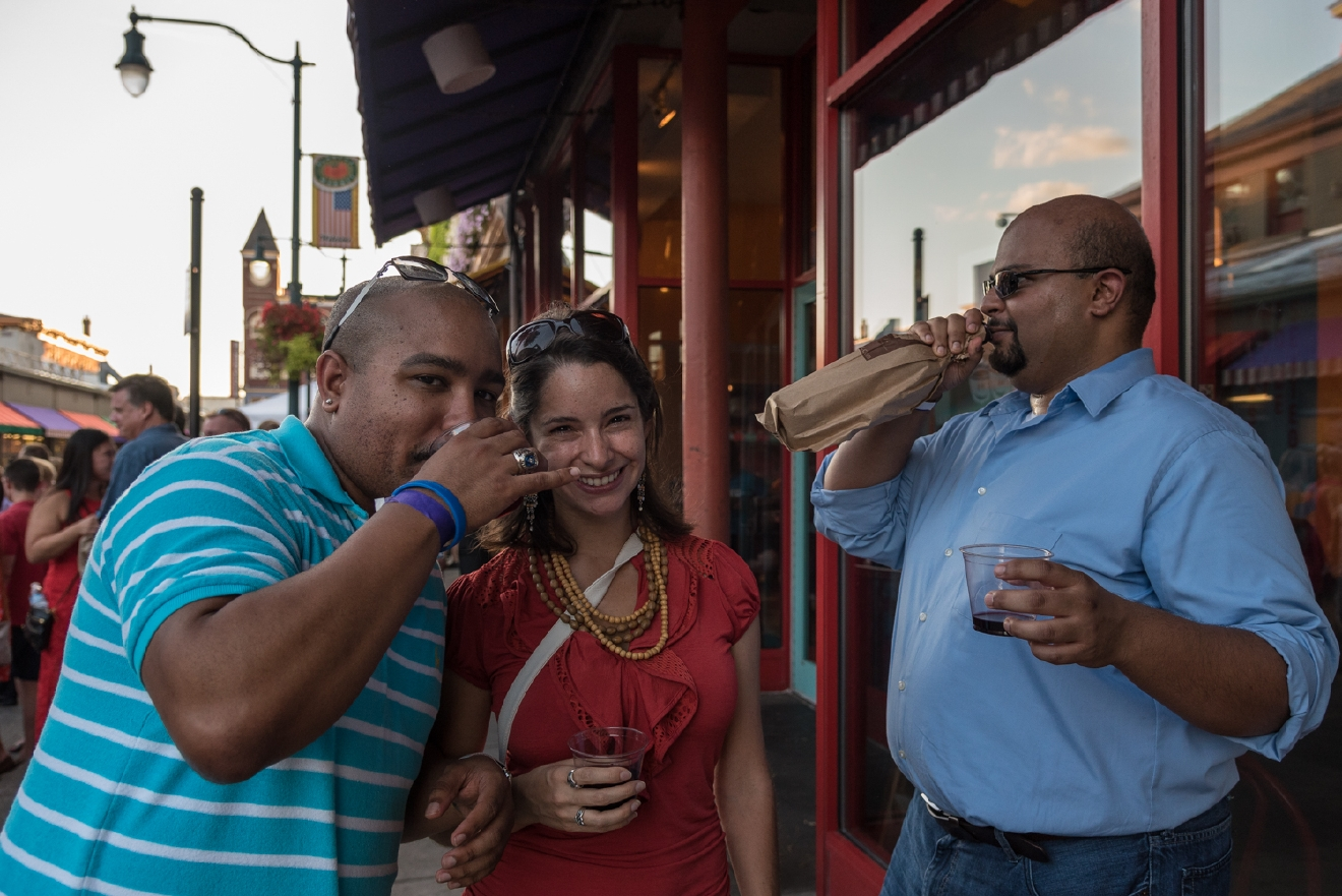 Chris Owens, Michelle Vargas, and Brandon White / Image: Phil Armstrong, Cincinnati Refined