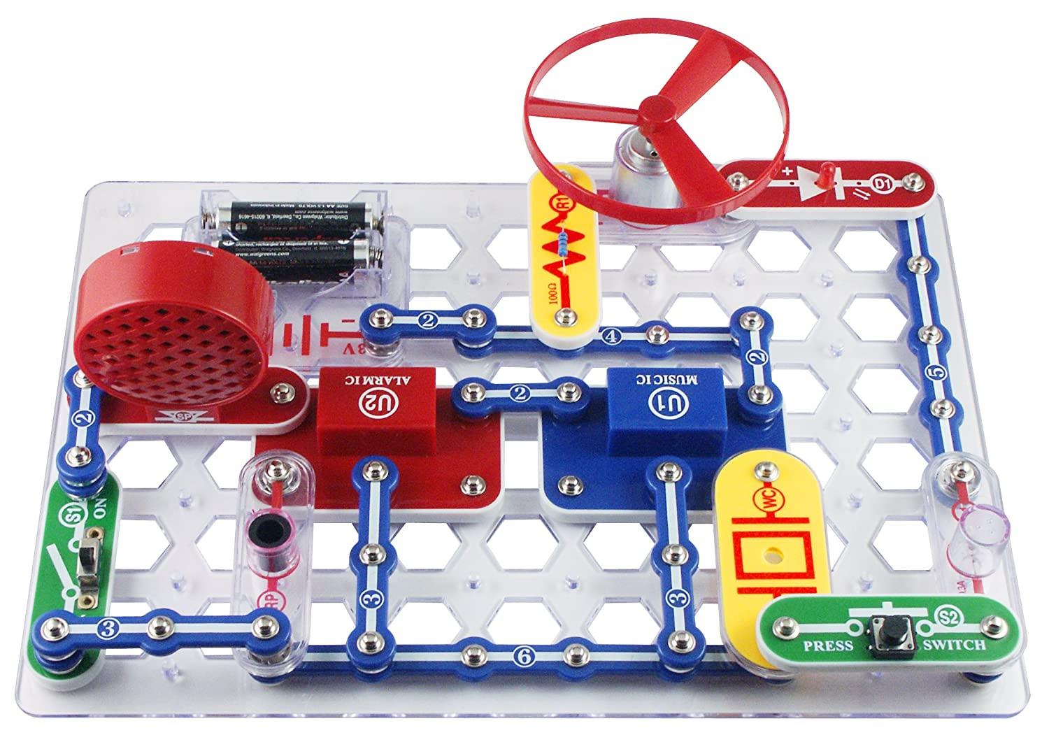 Snap Circuit Jr.{ }($20.99) Beware the whole family will probably fall in love with Snap Circuit Jr. This one kit allows kids to create 100 different electronic circuit systems with just 30 parts.{ }(Image: Amazon)