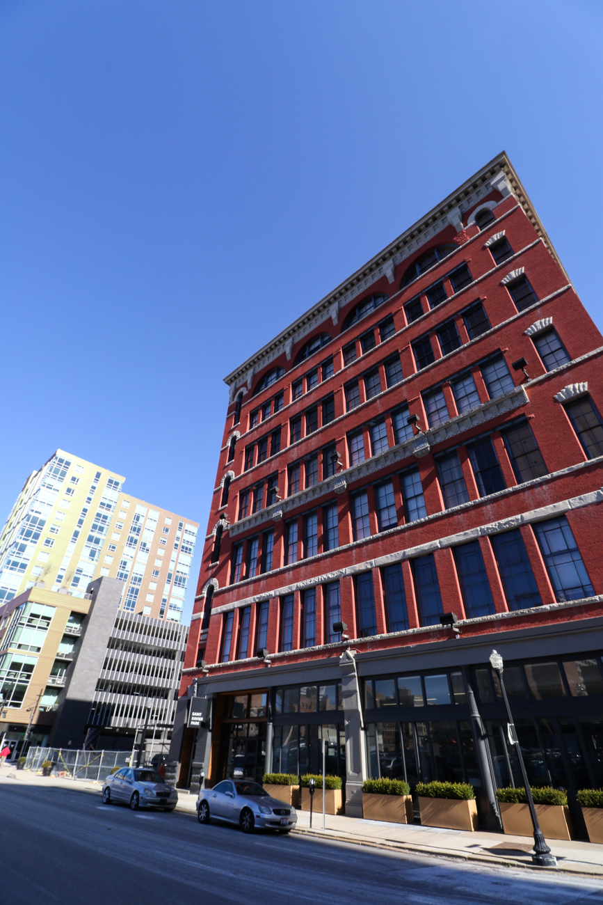 Sycamore Place Lofts is neighbors with its contemporary, sister building, Encore Urban Living.{ }/ Image: Ronny Salerno // Published: 2.6.19