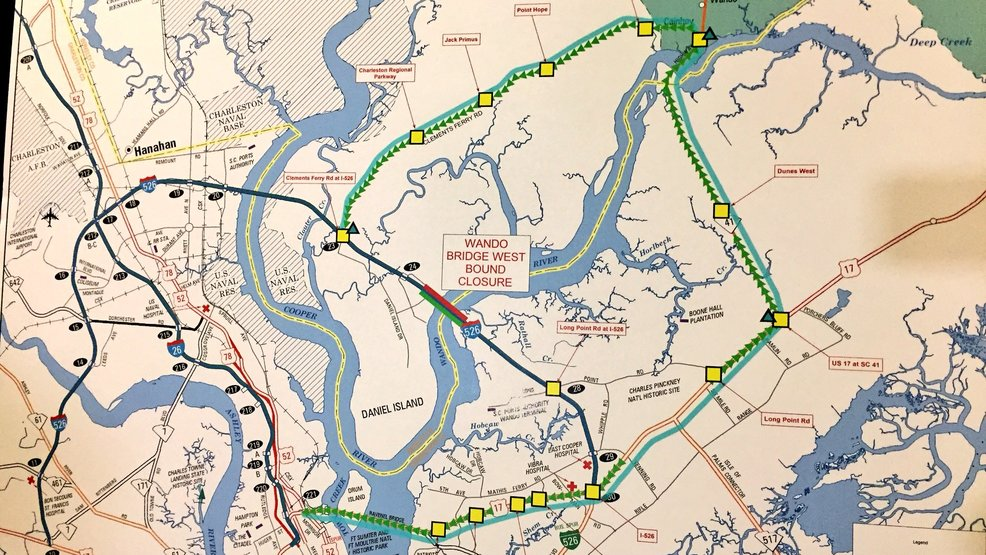 Governor Orders 2 Way Traffic On Eastbound Wando Bridge Local