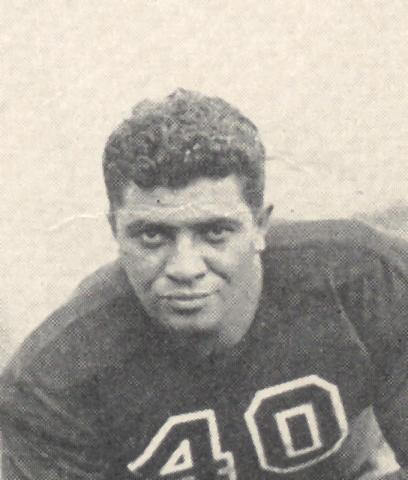 Before leading the Green Bay Packers to five NFL championships in seven years and becoming the namesake for the trophy awarded to Super Bowl champions, Vince Lombardi played at Fordham from 1933-36. His playing career there launched a prodigious coaching career. (Photo courtesy of Fordham University)
