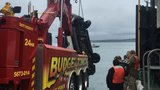 1 dead after SUV plunges into water at Anacortes ferry dock