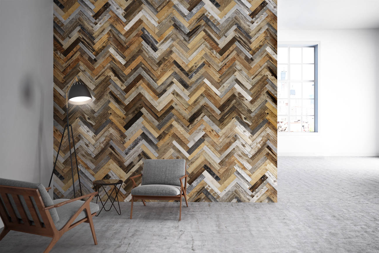 Greener Stock carries items from the manufacturing company, Finium, which uses barn wood to craft decorative wall coverings. / Image courtesy of Greener Stock // Published: 2.6.20
