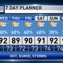 The Weather Authority | Isolated Storms Today/Wednesday But More Numerous Thursday