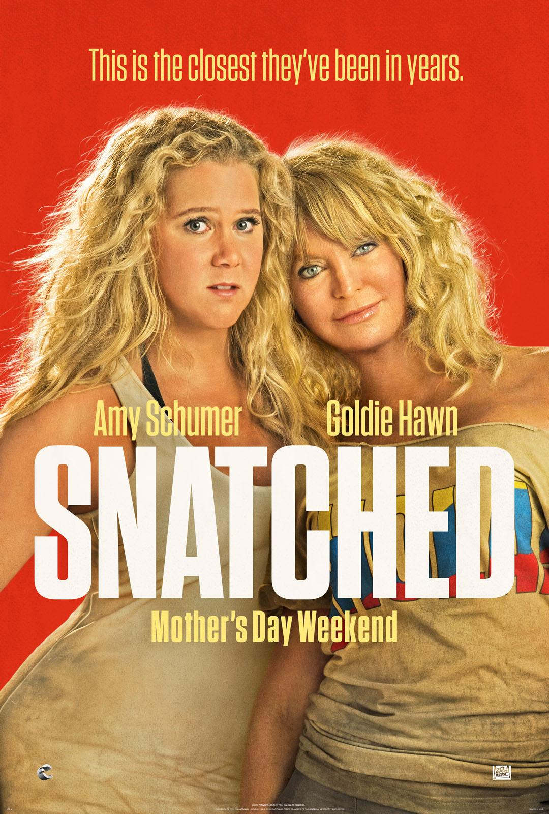 """Snatched""  (R) TM & © 2016 Twentieth Century Fox Film Corporation. All Rights Reserved. Not for sale or duplication."