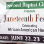 Locals commemorate 'Juneteenth'