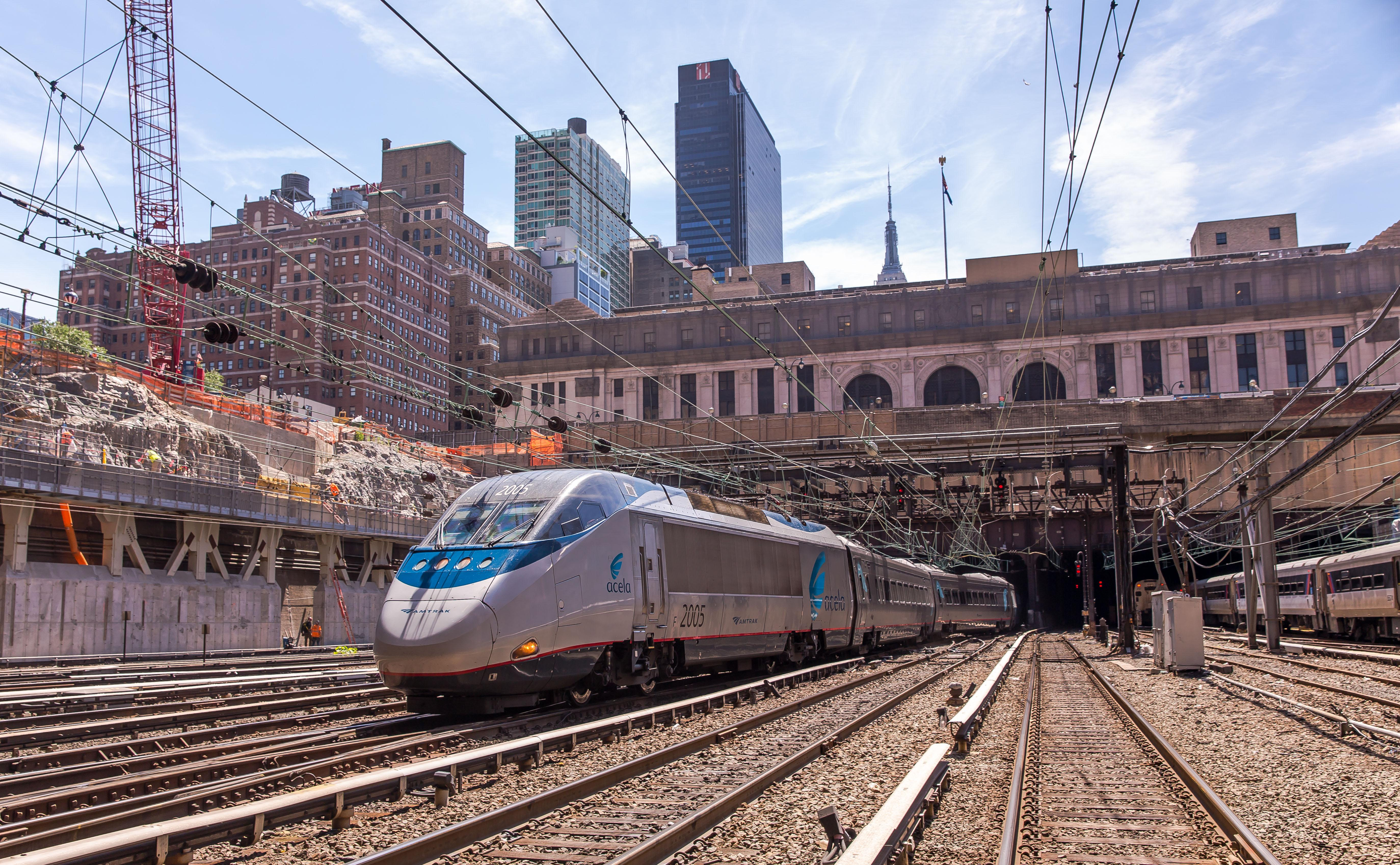 If you love giving super unique gifts, or you have a weirdly strong attachment to Amtrak's Acela trains, we have just the gift for you. (Image: Courtesy Amtrak)