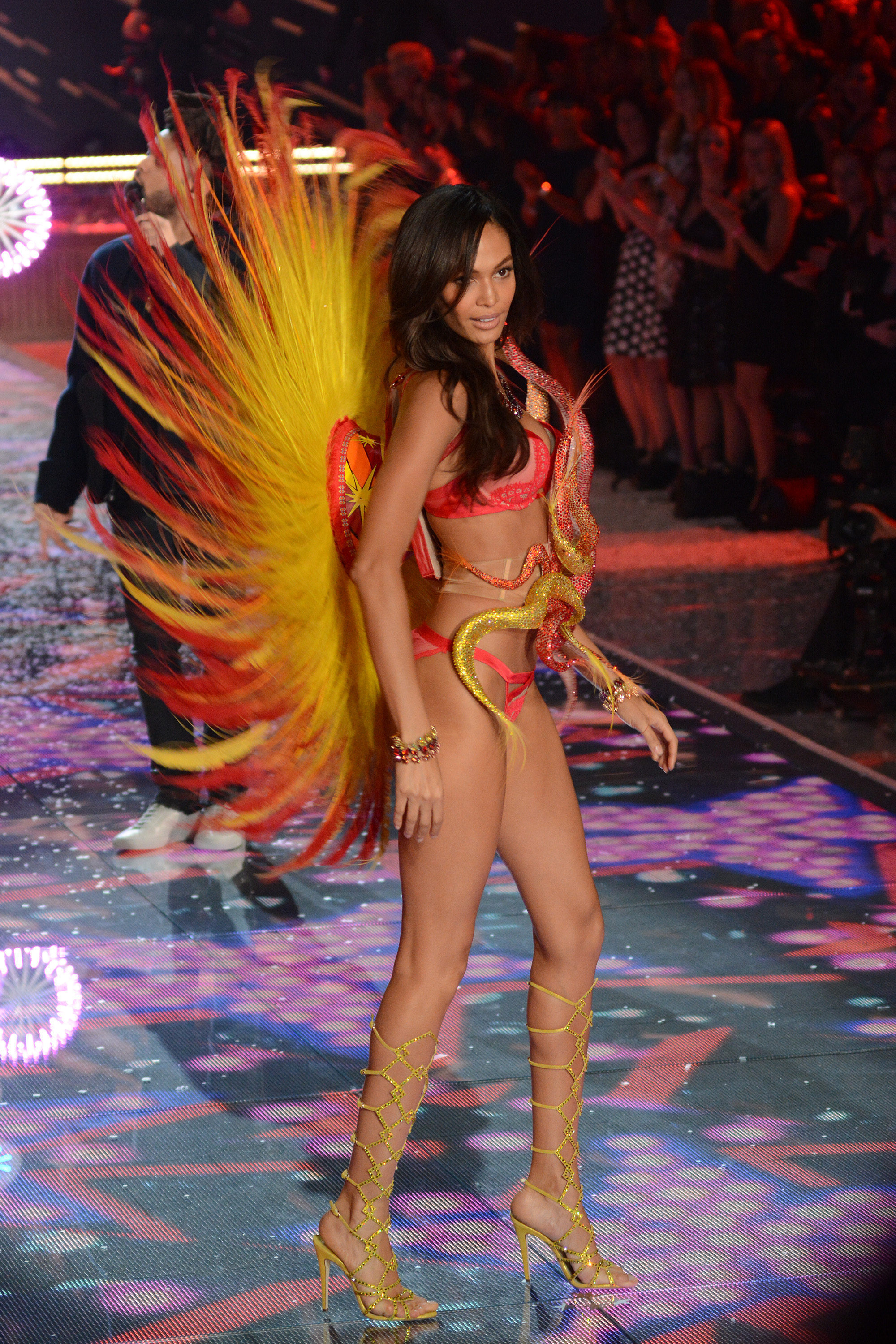 Joan Smalls at the 2015 Victoria's Secret Fashion Show - Runway (Ivan Nikolov/WENN.com)