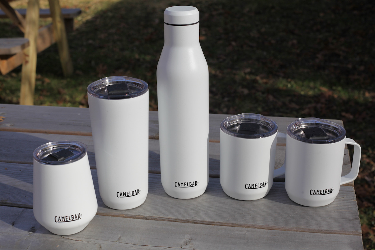 "<p>The CamelBak-Horizon Collection is a drinkware collection that offers durable but stylish wine tumblers, wine flasks, camp mugs, rocks tumblers, travel mugs, and more. They might very well become your go-to fireside companions, whether you're at a yurt or in your yard. The double-wall vacuum, insulated, stainless steel keeps beverages hot or cold for hours. /{&nbsp;}<a  href=""https://www.camelbak.com/"" target=""_blank"" title=""https://www.camelbak.com/"">Website{&nbsp;}</a>/ Price: $22-50 / Image: Chez Chesak // Published: 12.6.20</p>"
