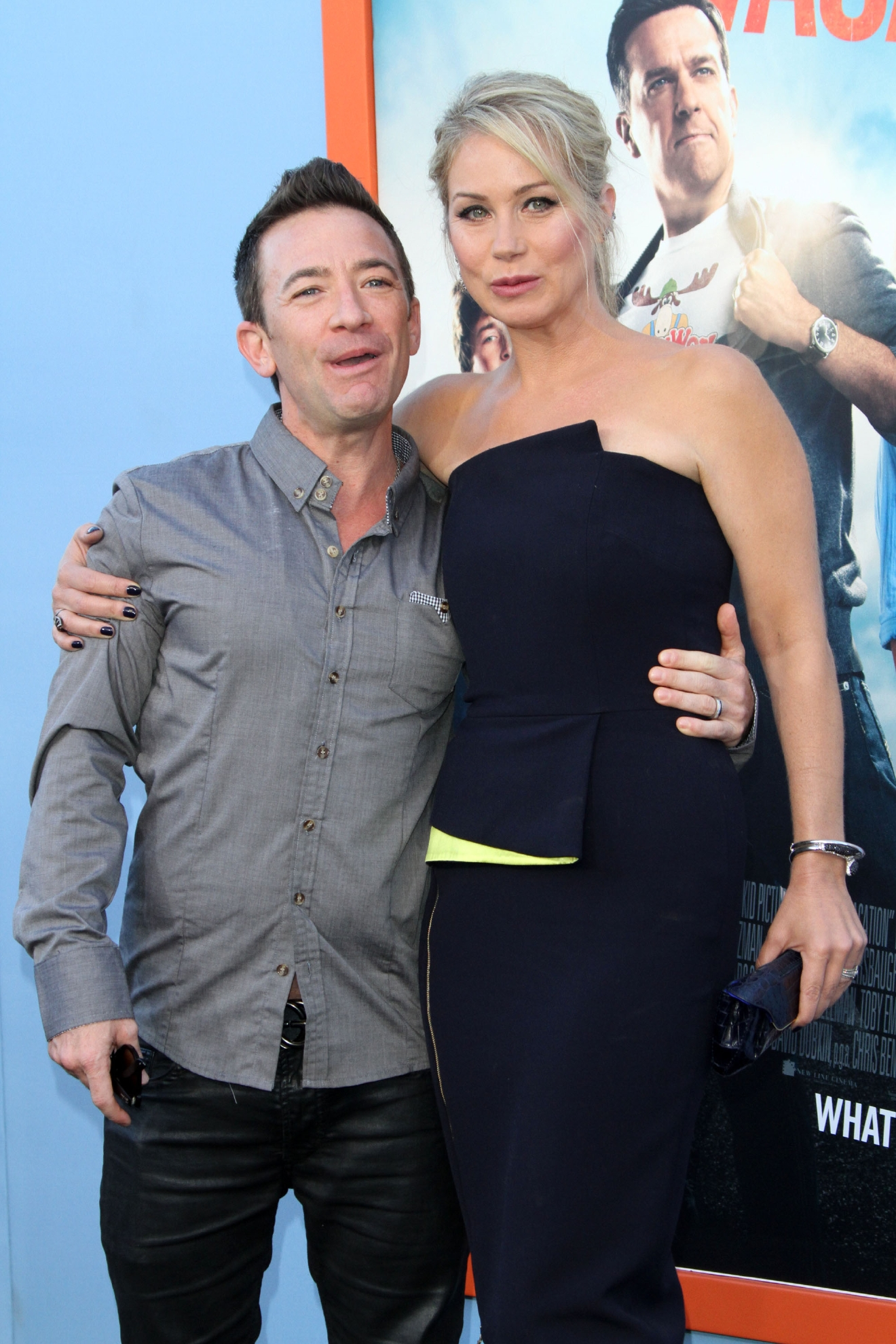 Premiere of Warner Bros. Pictures �Vacation� held at the Regency Village Theatre                                    Featuring: David Faustino and Christina Applegate                  Where: Los Angeles, California, United States                  When: 28 Jul 2015                  Credit: Adriana M. Barraza/WENN.com
