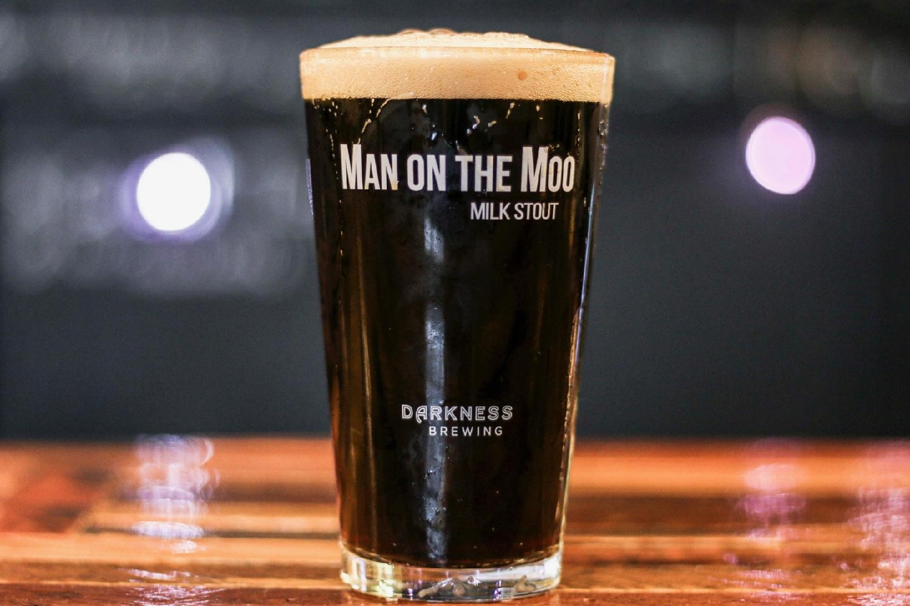Man on the Moo Milk Stout / Image: Tommy Zipperstein