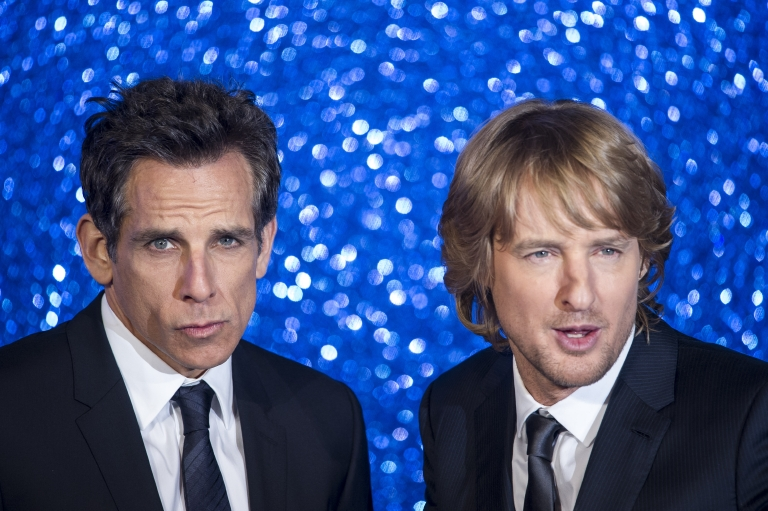 "Ben Stiller and Owen Wilson attend the ""Zoolander 2"" U.K. premiere in London on Feb. 4, 2016. (Euan Cherry/WENN)"