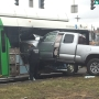 Police: No serious injuries after truck crashes into Centro bus near Destiny USA
