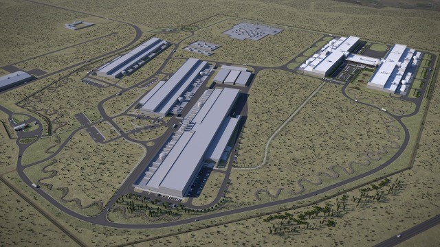 Facebook will be adding two new buildings to its Prineville Data Center. It will break ground on the buildings in December 2017 and January 2018. Photo courtesy Weinstein PR