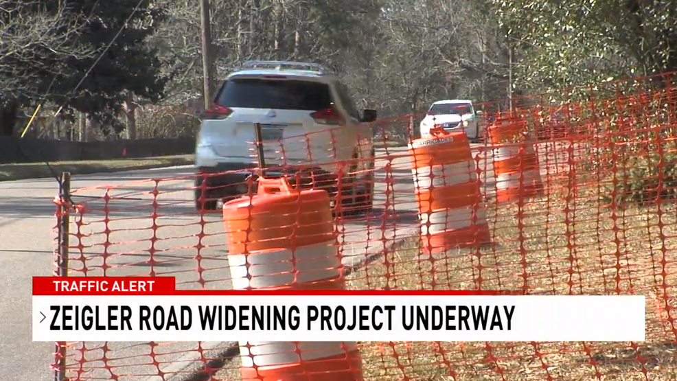 (WPMI) Phase two of the Ziegler Boulevard widening project is now underway