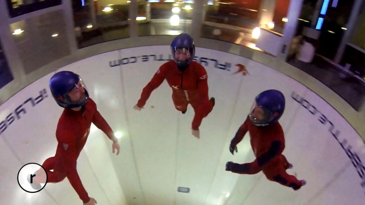 iFLY, an indoor flying center, will take you to new heights as you soar in their simulated skydiving tunnel. Feel the rush of the air as you learn to twist and tilt your way through the powerful current.<p></p>