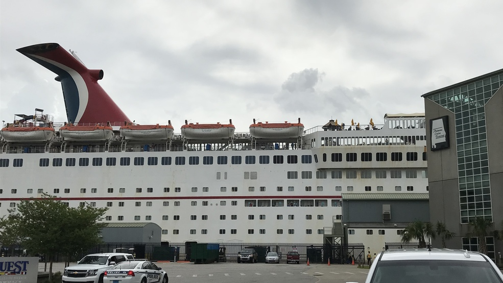 Carnival Fantasy Docks In Mobile After Delay From Barry Wpmi