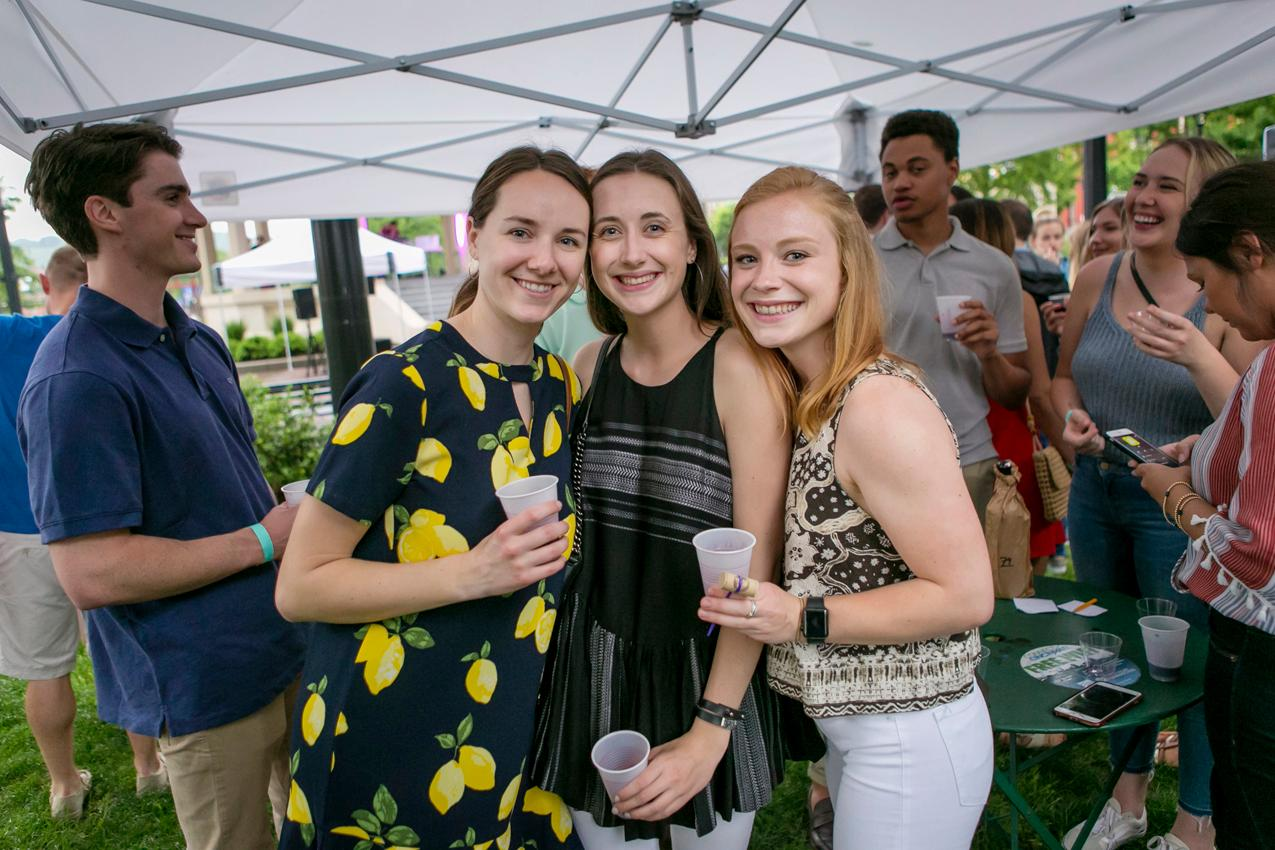 Carrie Ryan, Ali Brockhoff, and Caroline Buluck / Image: Mike Bresnen Photography // Published: 5.18.18