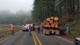 Police: Teen driving Honda Civic seriously injured in head-on crash with log truck
