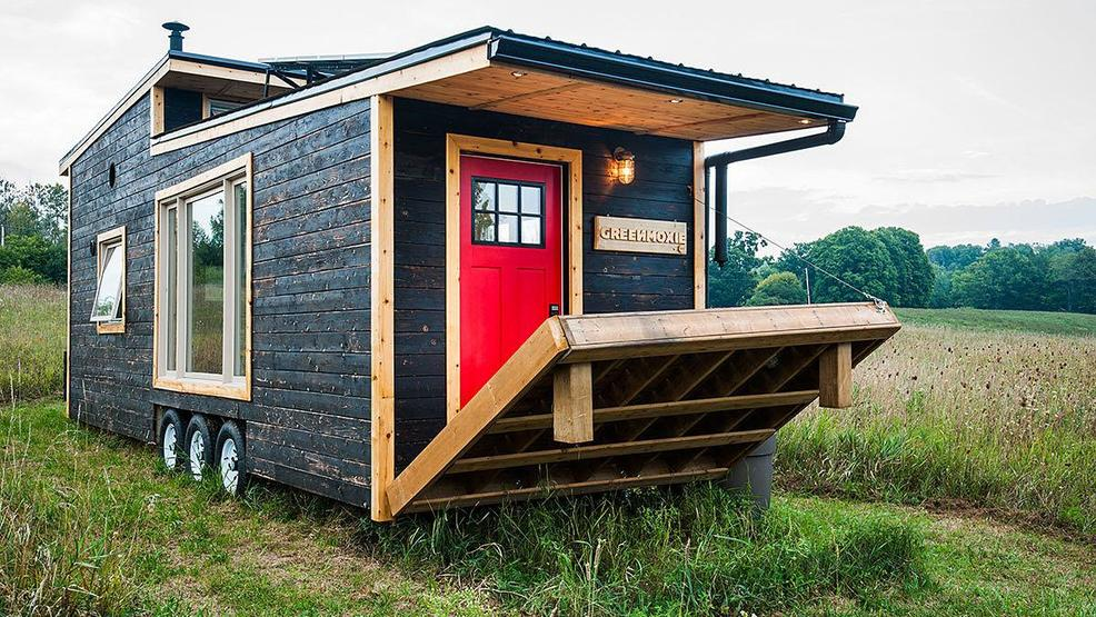 This Is A 340 Square Foot Sustainably Built Dwelling That Offers 100%  Off The Grid Living And Even An Electric Drawbridge Style Deck For Enjoying  The ...