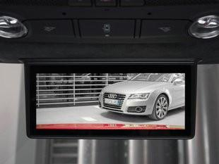 Another video screen that regulators don't like is one that shows the image that we'd normally see in the rear-view mirrors. Video screens that show moving images while the car is moving forward aren't allowed.