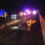 Driver suffers head trauma in I-5 crash