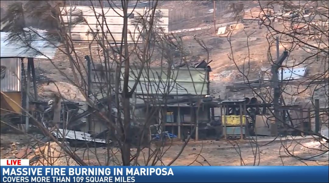 Building destroyed by fire (FOX26)