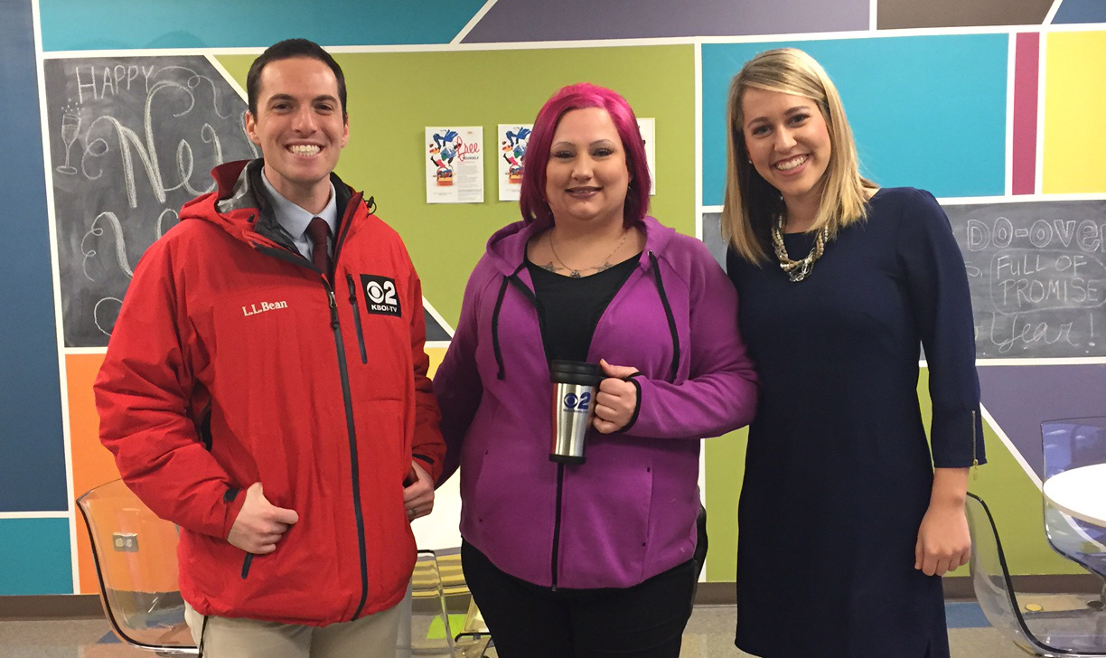Mugshot Mondays: This week's winner is BPA Health in Boise! Bryan Levin & Kelsey Anderson helped deliver free Dutch Bros. Coffee and KBOI mugs! Want your business to be next? Enter: http://bit.ly/1UoKo3X