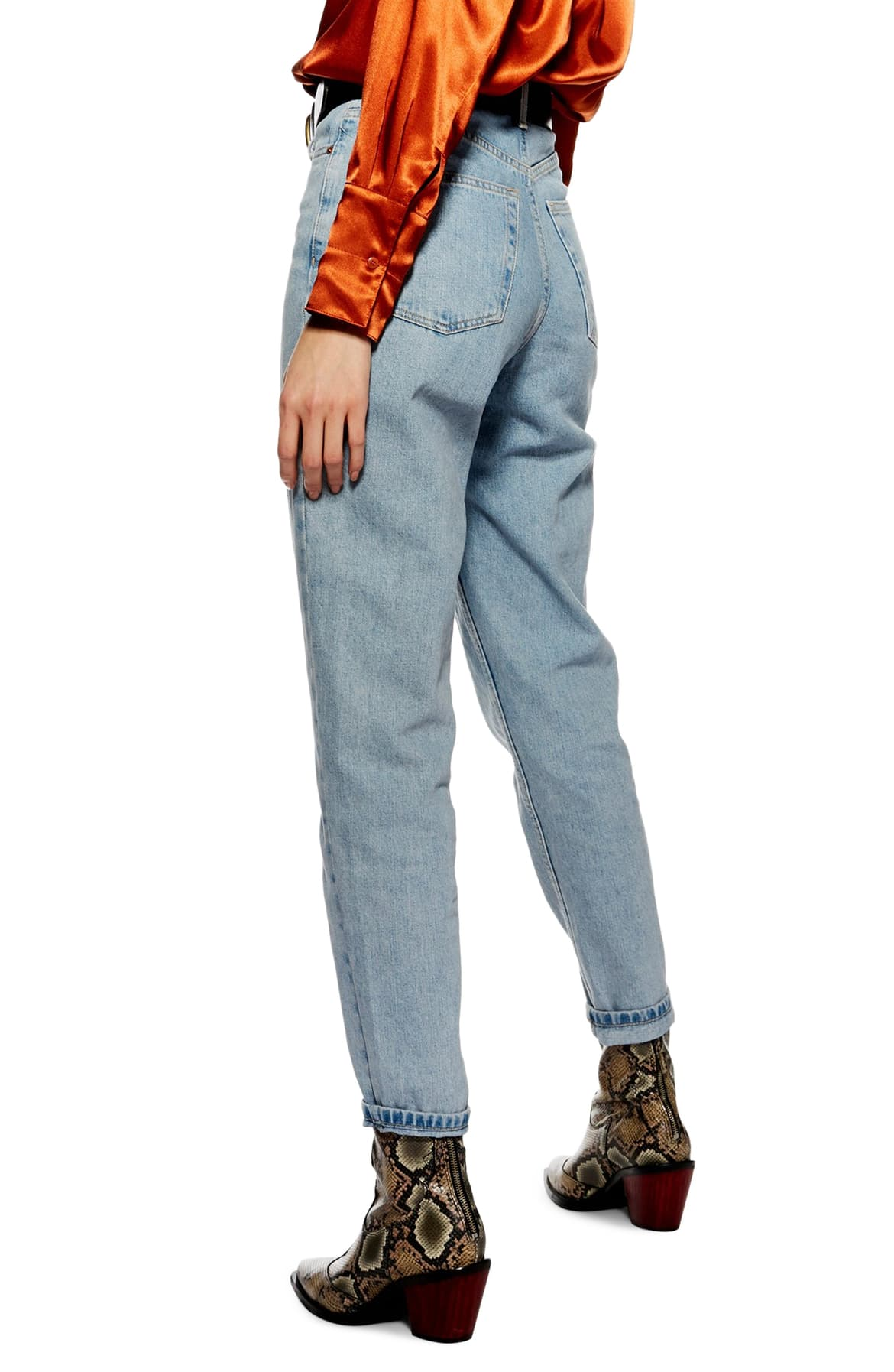 Bleach ripped mom jeans - need I say more? Make your own, or get these bad boys for $75.{ } You could also raid Goodwill or your mom's closet?{ } Just sayin. (Image: Nordstrom){ }