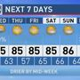 The Weather Authority | Tropical Air; Showers/Storms Remain Possible
