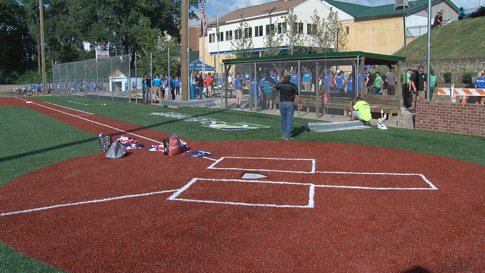 Volunteers spruce up Bellevue Vets Complex as part of Reds Legacy Project