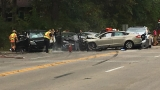 6 Vehicle Accident On Chatham Road And Lawrence Avenue