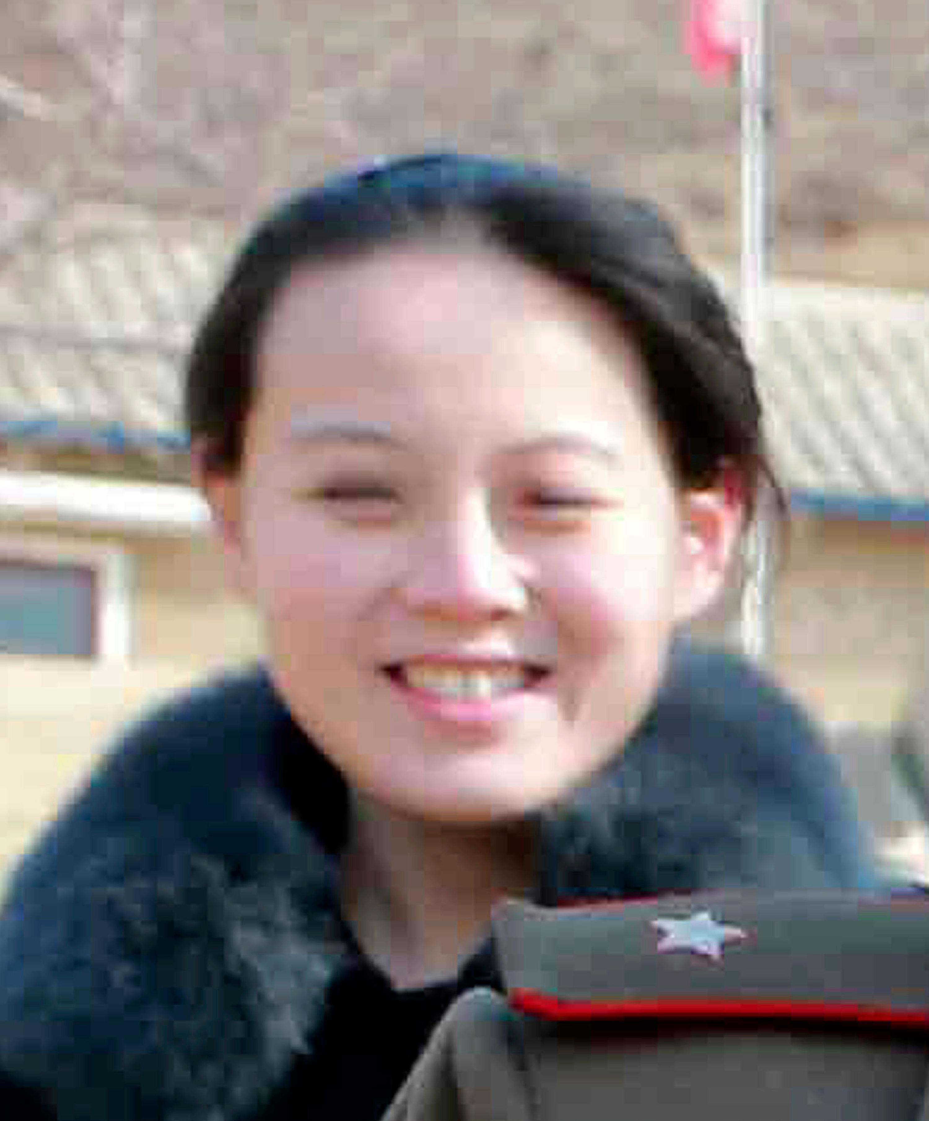 FILE - This 2015, file photo provided by the North Korean government shows Kim Yo Jong, sister of North Korean leader Kim Jong Un, in North Korea. Independent journalists were not given access to cover the event depicted in this image distributed by the North Korean government. South Korea's Unification Ministry said North Korea informed Wednesday, Feb. 7, 2018, that Kim Yo Jong would be part of the high-level delegation coming to the South for the Pyeongchang Winter Olympics. Independent journalists were not given access to cover the event depicted in this image distributed by the North Korean government. The content of this image is as provided and cannot be independently verified. (Korean Central News Agency/Korea News Service via AP, File)