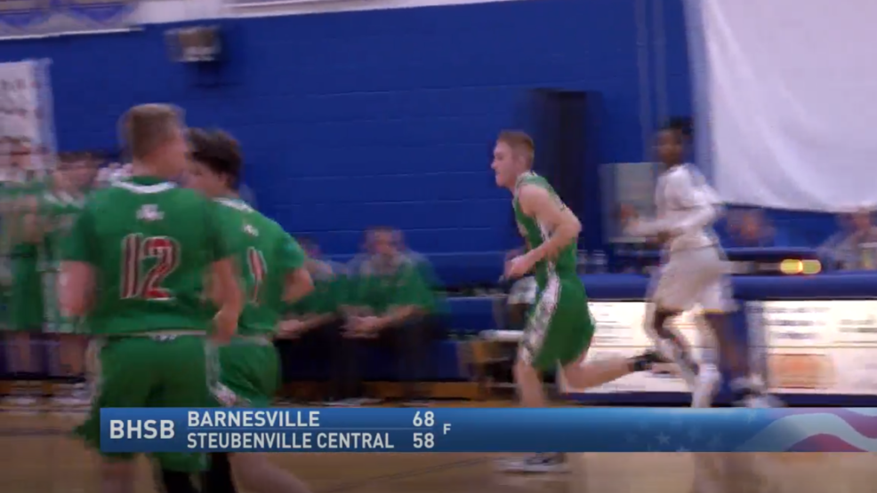 1.7.20 Highlights - Steubenville CC vs. Barnesville - Boys high school basketball