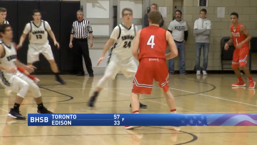 2.1.18 Highlights: Toronto vs. Edison - boys basketball