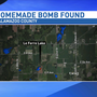Explosive found near lake, investigation underway