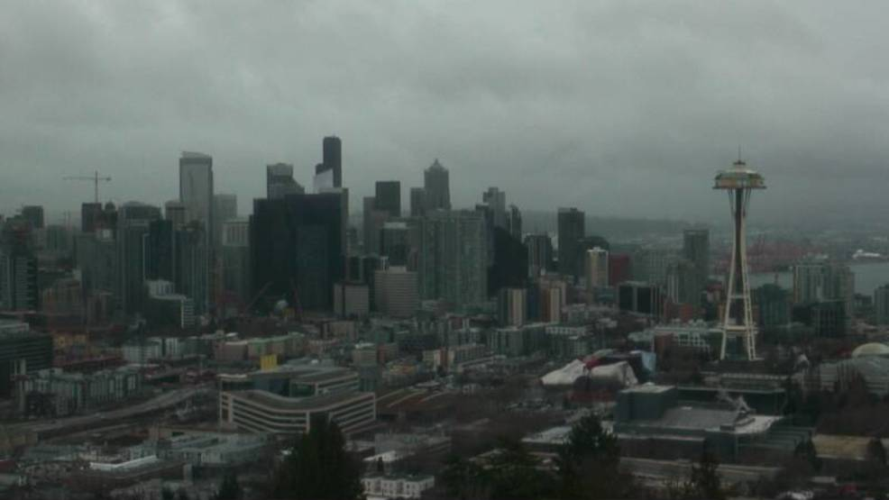 12 days in a row with rain: Old hat for Seattle, but would be a record in New York