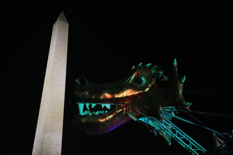 D.C. has a reputation for being a suit-and-tie kind of town, but once a year locals can cut loose, experience psychedelic art and dance into the night, illuminated by the Washington Monument. Catharsis on the Mall is an offshoot of Burning Man. Between November 10-12, you can attend free workshops on everything from polyamory to social justice to sacred geometry in addition to the near-constant music. So grab your best (and warmest) burner gear and get ready to take a break from reality. (Amanda Andrade-Rhoades/DC Refined)